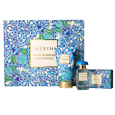 Product photo of Aerin mediterranean honeysuckle collection fragrance gift set