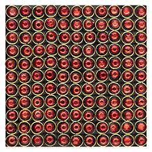 Buy John Lewis Bling Tastic Coaster, Red Online at johnlewis.com