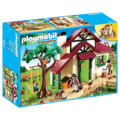 Click here for Playmobil Country Forest Rangers House