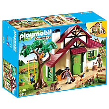 Buy Playmobil Country Forest Rangers House Online at johnlewis.com