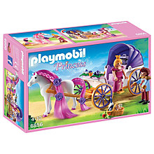 Buy Playmobil Princess Royal Couple with Carriage Online at johnlewis.com