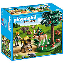 Buy Playmobil Woodland Grove Online at johnlewis.com