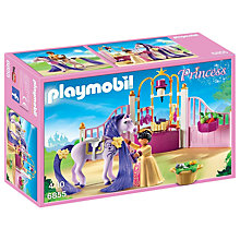 Buy Playmobil Princess Castle Stable Online at johnlewis.com