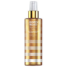 Buy James Read H20 Illuminating Tan Body Mist, 200ml Online at johnlewis.com
