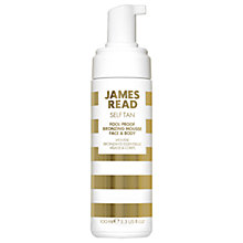 Buy James Read Foolproof Face & Body Bronzing Mousse, 100ml Online at johnlewis.com