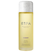 Buy ESPA Fitness Body Oil, 100ml Online at johnlewis.com