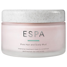 Buy ESPA Pink Hair And Scalp Mud, 180ml Online at johnlewis.com