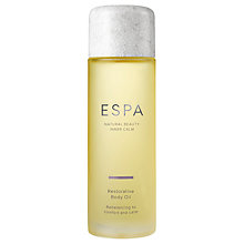 Buy ESPA Restorative Body Oil, 100ml Online at johnlewis.com
