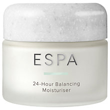 Buy ESPA 24-Hour Balancing Moisturiser, 55ml Online at johnlewis.com