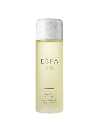 Buy ESPA Soothing Bath Oil, 100ml Online at johnlewis.com
