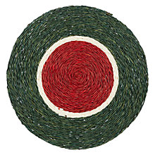 Buy Gone Rural Woven Grass Placemat, Dia.28cm Online at johnlewis.com