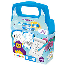 Buy Fundels Play & Learn Drawing With Numbers Set Online at johnlewis.com