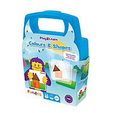 Buy Fundels Play & Learn Colours & Shapes Game Online at johnlewis.com