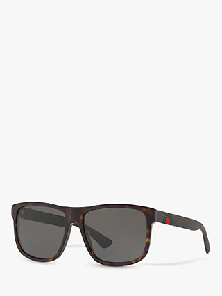 Gucci GG0010S Polarised D-Frame Sunglasses