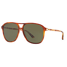 Buy Gucci GG0016S Aviator Sunglasses Online at johnlewis.com