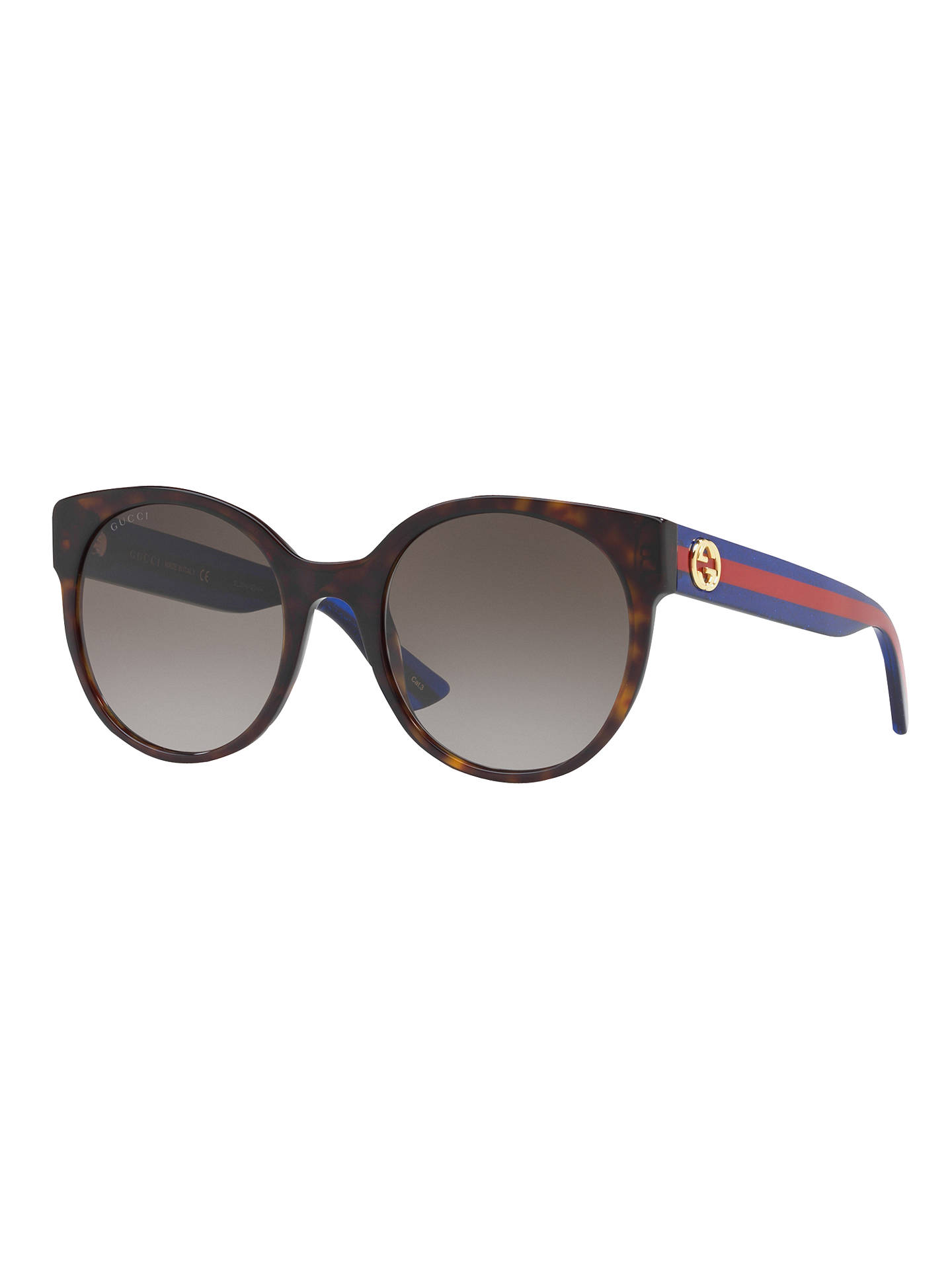 ada6167a61 Gucci GG0035S Women s Oval Sunglasses at John Lewis   Partners