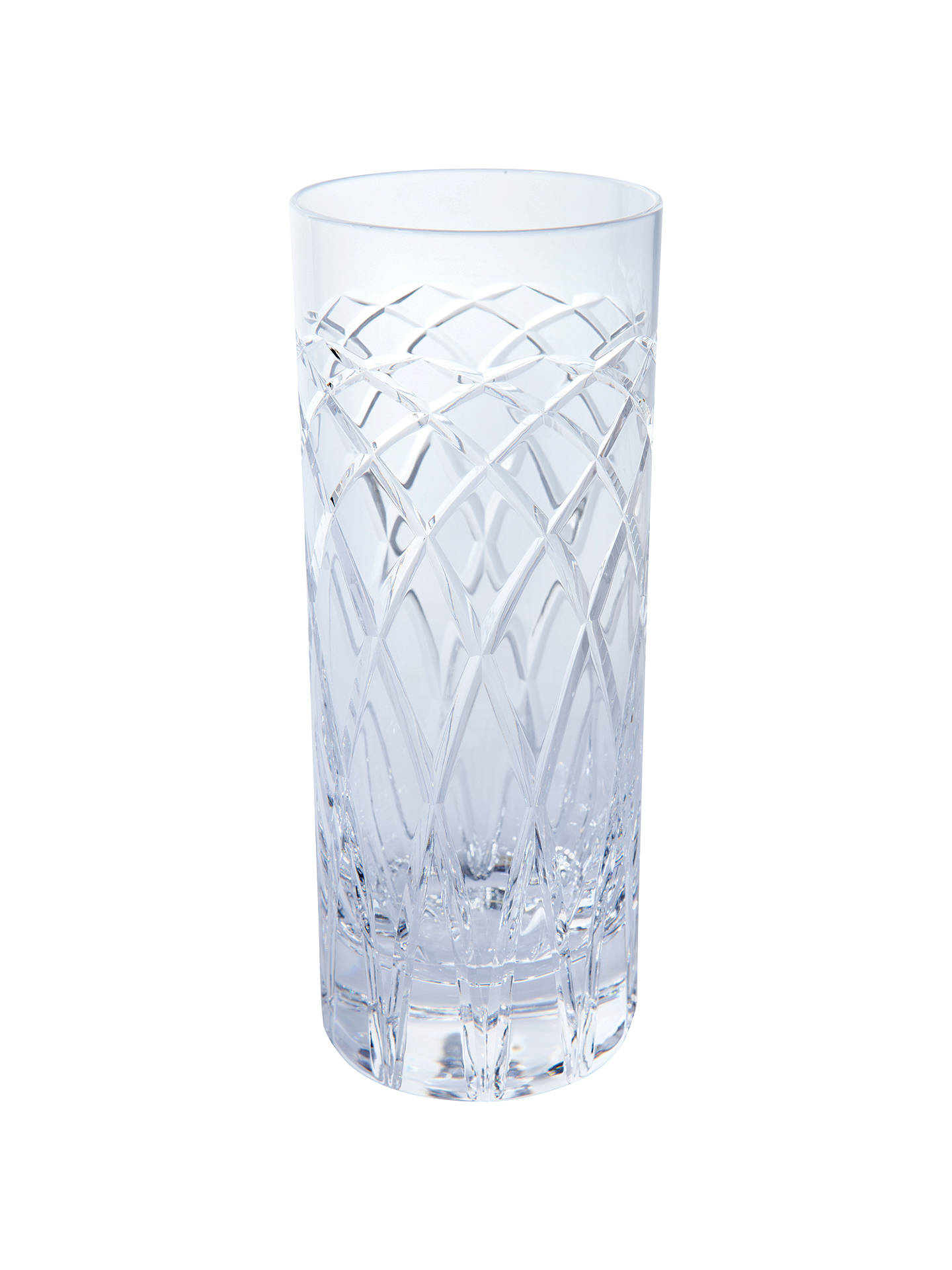 BuyRoyal Brierley Harris Crystal Highballs, Set of 2, Clear Online at johnlewis.com