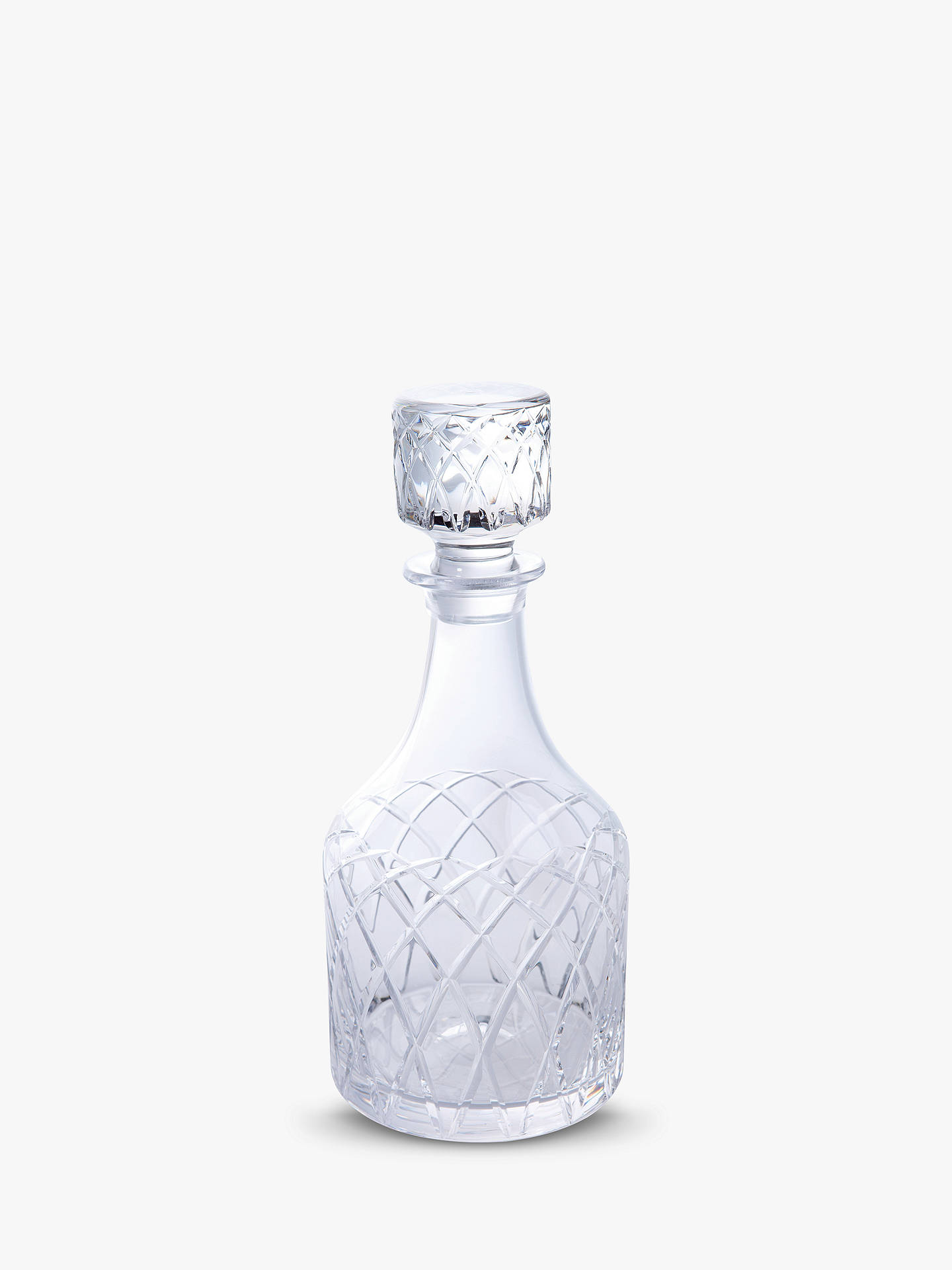 BuyRoyal Brierley Harris Cut Lead Crystal Spirit Decanter, Clear Online at johnlewis.com