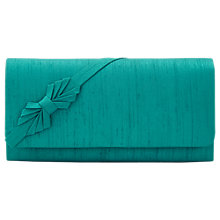 Buy Jacques Vert Petite Clutch Bag, Bright Green Online at johnlewis.com
