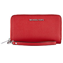 Buy MICHAEL Michael Kors Jet Set Leather Travel iPhone 6 Case Online at johnlewis.com
