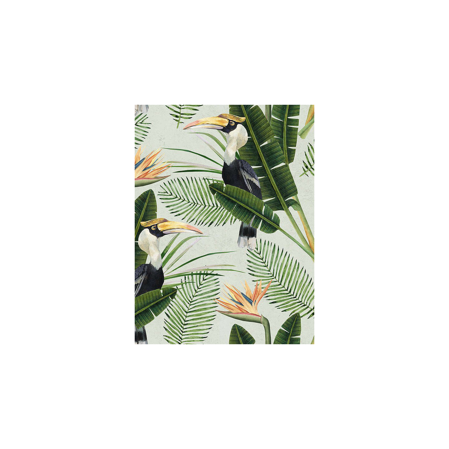 BuyMindtheGap Birds of Paradise Paste the Wall Wallpaper Set, WP20092 Online at johnlewis.com