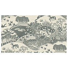 Buy Concord Heartwood Scenic Print Fabric, Grey Online at johnlewis.com