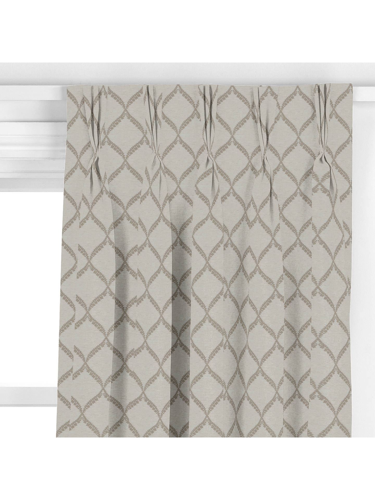 BuySanderson HomeDalby Curtain, Stone Online at johnlewis.com