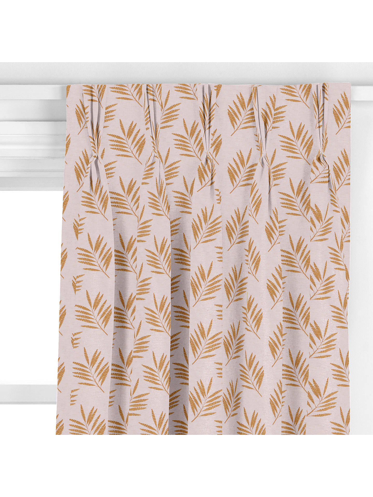 BuySanderson Home Tilton Curtain, Mustard Online at johnlewis.com
