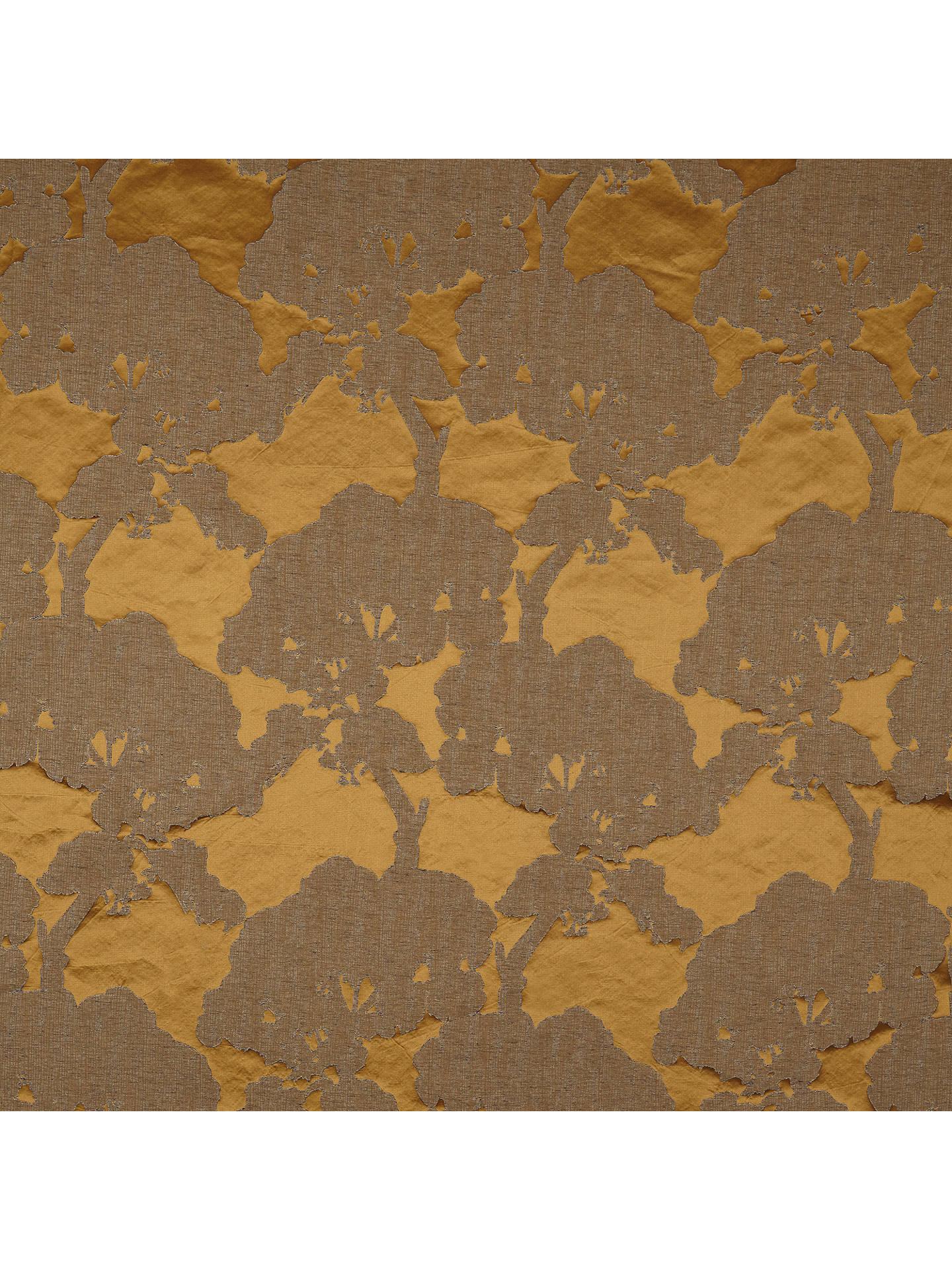 "Handmade Cushion Cover John Lewis Komako Gold 12/""x20/"""