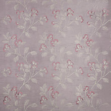 Buy John Lewis Grace Floral Curtain, Lilac Online at johnlewis.com