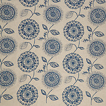 Buy John Lewis Lars Curtain, Blue Online at johnlewis.com