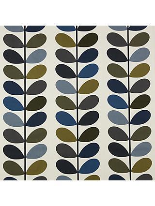 Orla Kiely Multi Stem Curtain Moss