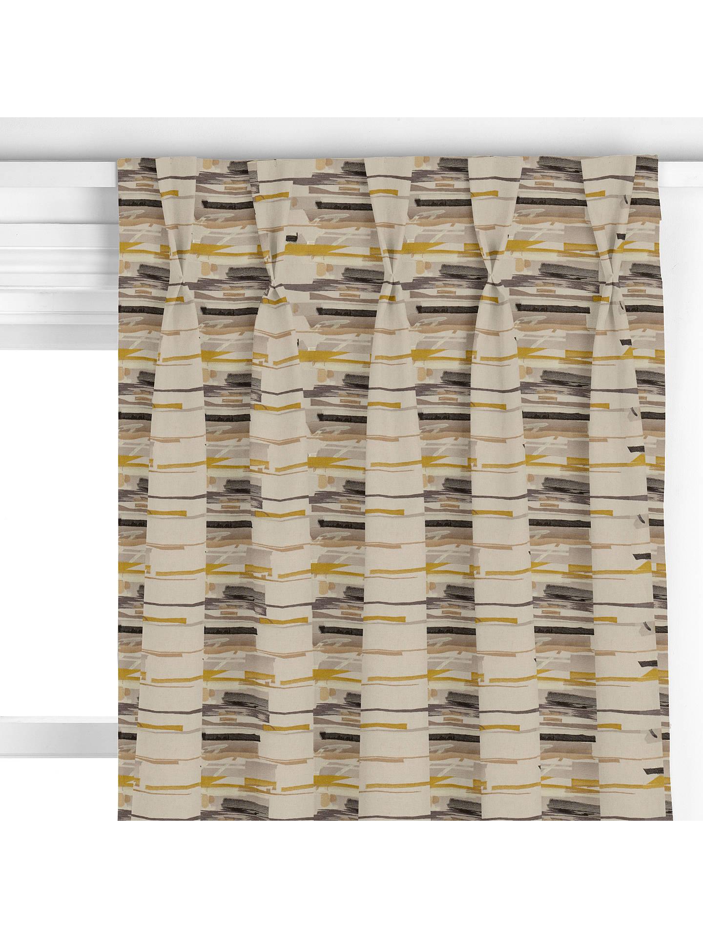 Harlequin Zeal Made To Measure Curtains Mustard At John