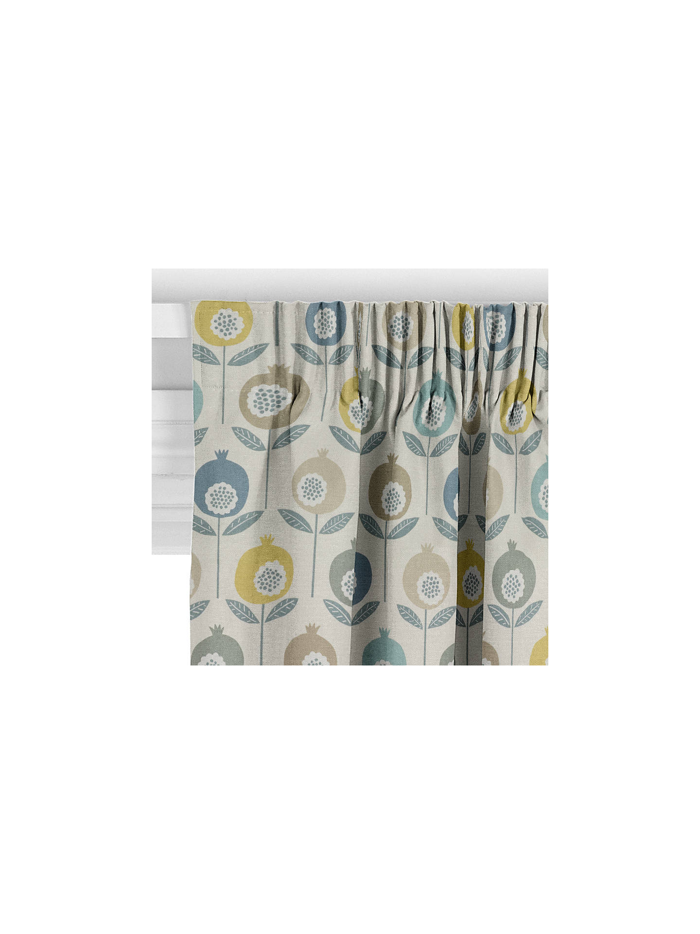 BuyScion Pepino Curtain, Limeade Online at johnlewis.com