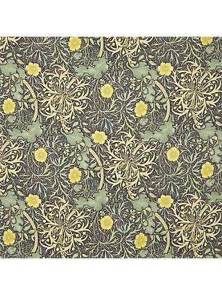 Morris & Co. Seaweed Made to Measure Curtains or Roman Blind, Yellow