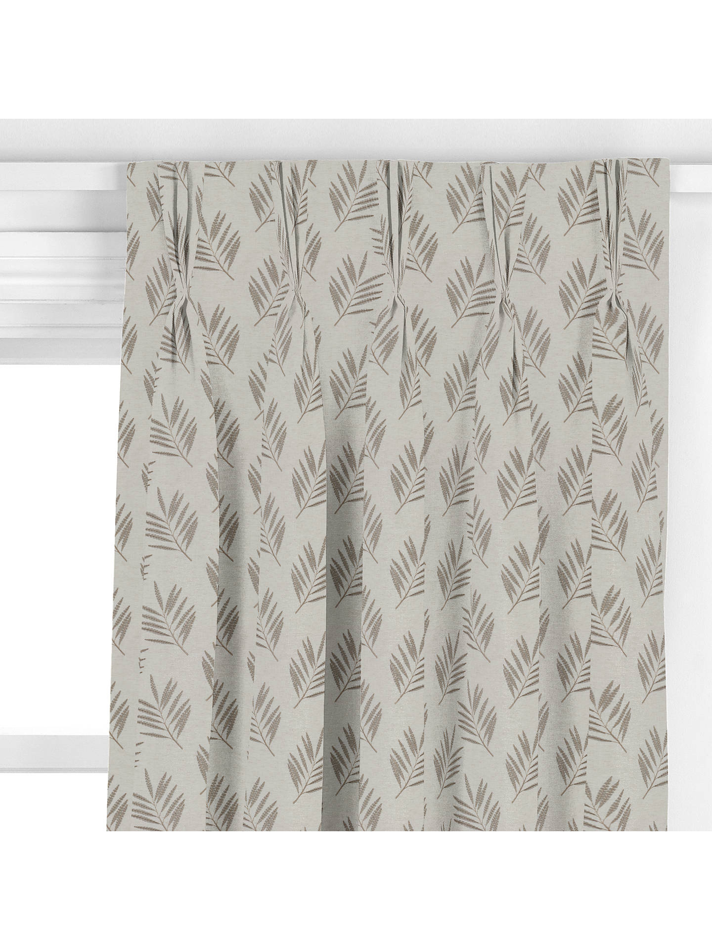 BuySanderson Home Tilton Curtain, Stone Online at johnlewis.com