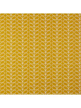 Orla Kiely Linear Stem Made to Measure Curtains or Roman Blind, Dandelion