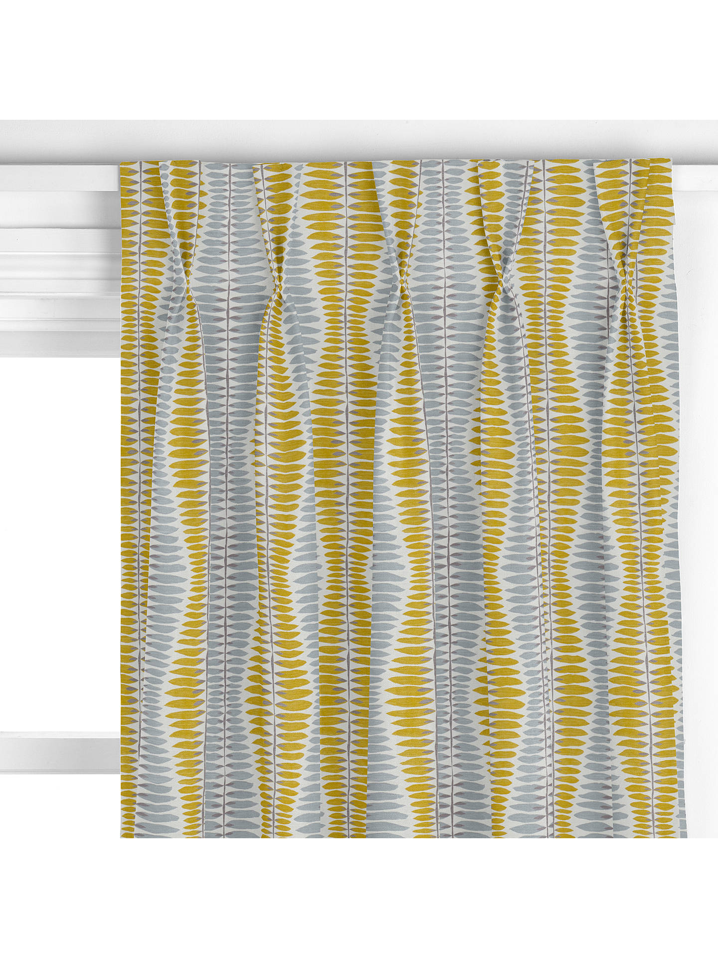 John Lewis Amp Partners Iris Leaf Made To Measure Curtains
