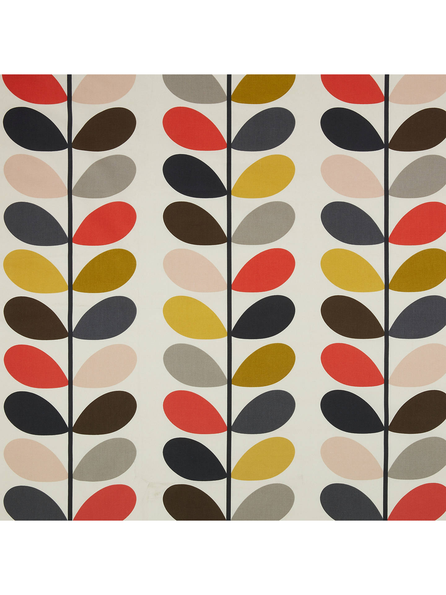 Orla Kiely Multi Stem Made To Measure Roman Blind Multi
