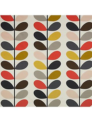 Orla Kiely Multi Stem Made to Measure Curtains or Roman Blind, Multi
