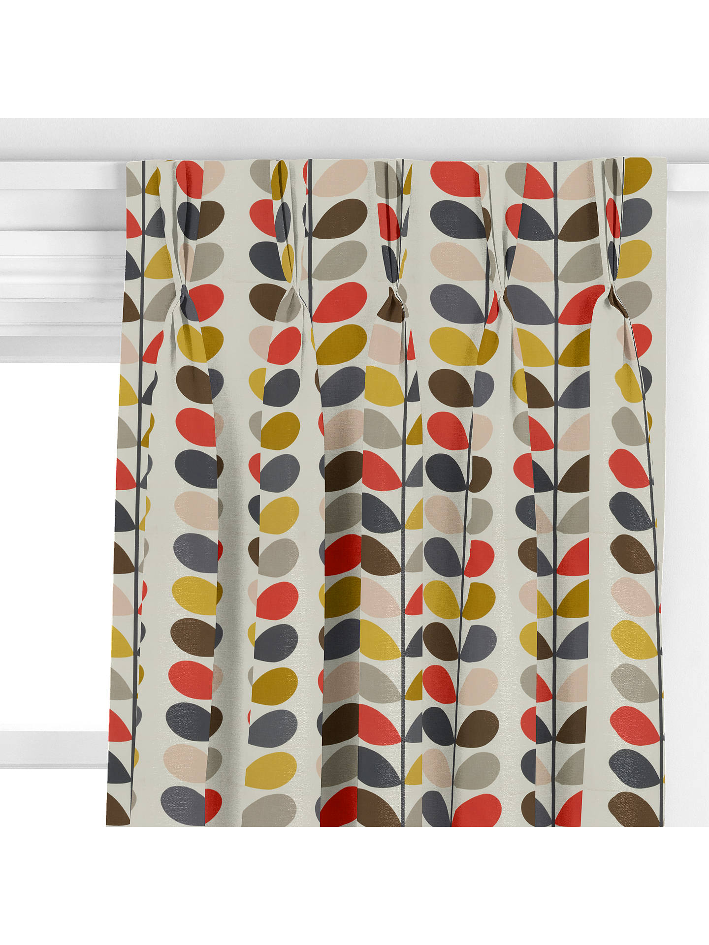 Orla Kiely Multi Stem Made To Measure Curtains Multi At