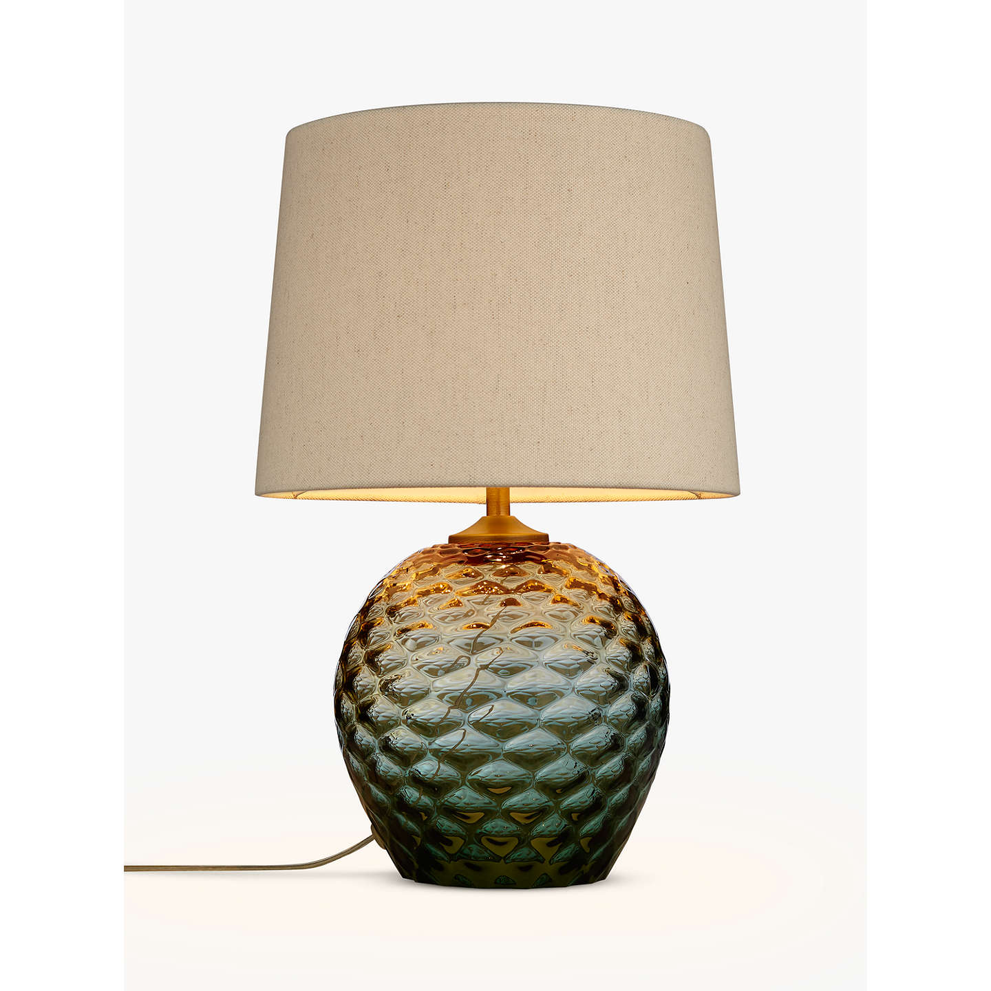 John lewis abigail dimple ombre table lamp green at john lewis buyjohn lewis abigail dimple ombre table lamp green online at johnlewis aloadofball Gallery