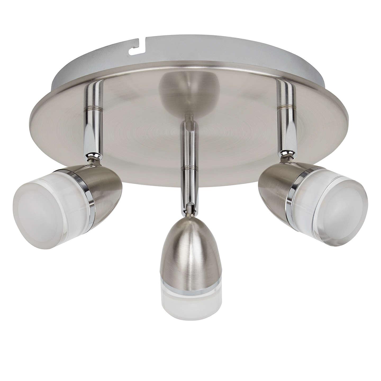 John lewis avenger led 3 spotlight ceiling plate at john lewis buyjohn lewis avenger led 3 spotlight ceiling plate online at johnlewis aloadofball Images