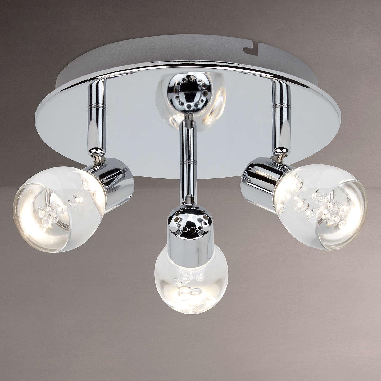 John lewis cammi led 3 spotlight ceiling plate at john lewis buyjohn lewis cammi led 3 spotlight ceiling plate online at johnlewis aloadofball Images