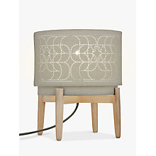Buy John Lewis Arvid Table Lamp, Khaki Online at johnlewis.com