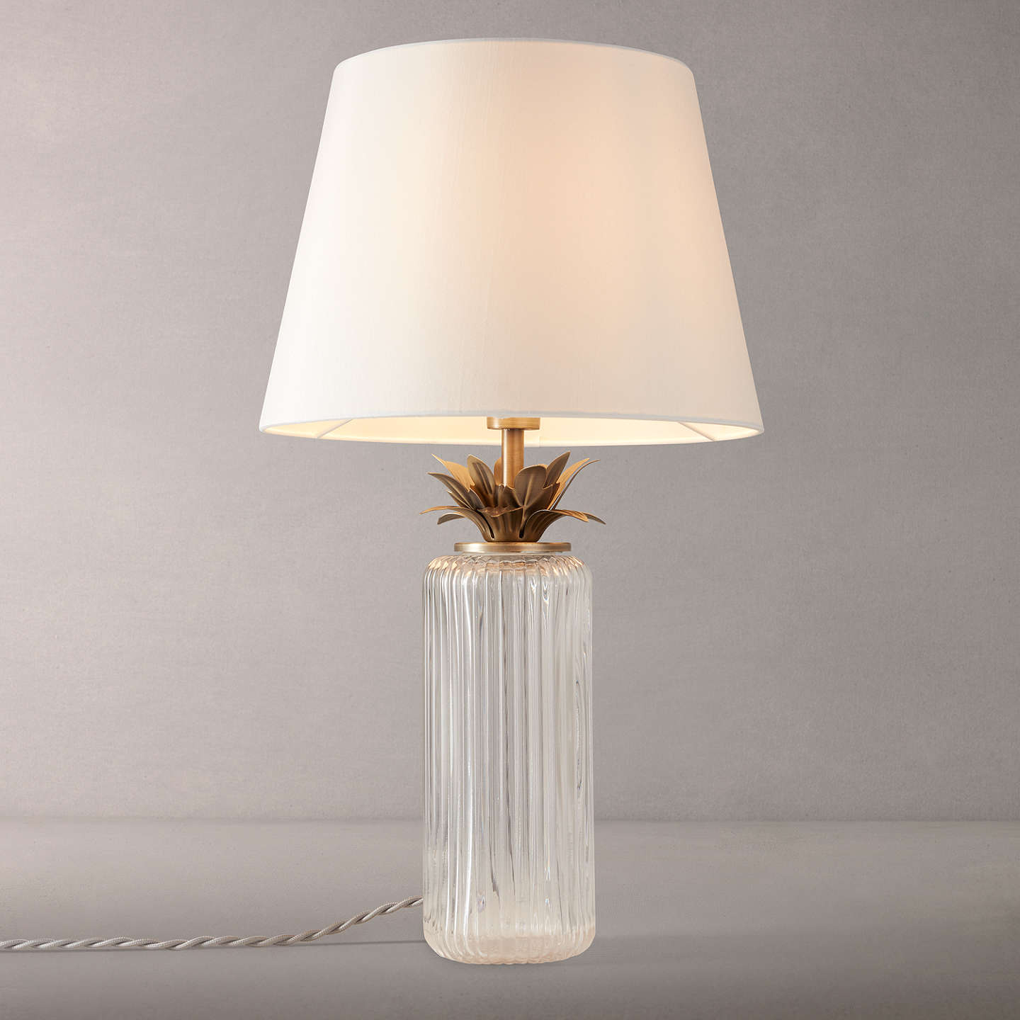 offer john lewis gaynor table lamp at john lewis