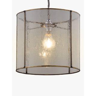Pendant glass ceiling lighting john lewis john lewis easy to fit leighton bubble glass ceiling shade aloadofball Images