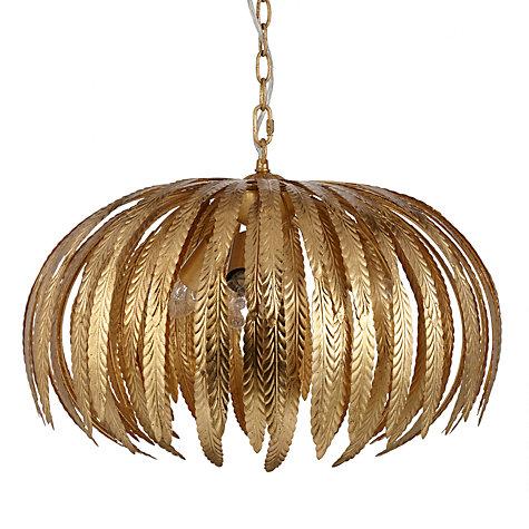 Buy john lewis montserrat ceiling light gold john lewis buy john lewis montserrat ceiling light gold online at johnlewis mozeypictures Choice Image