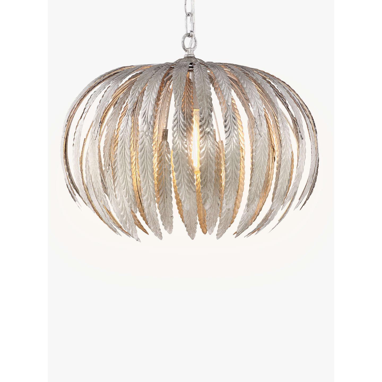 John lewis montserrat mini silver leaf ceiling light at john lewis buyjohn lewis montserrat mini silver leaf ceiling light online at johnlewis aloadofball Images