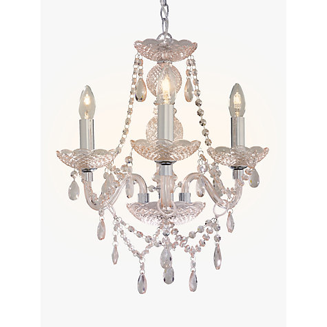 John Lewis Bethany Chandelier 3 Arm Online At Johnlewis